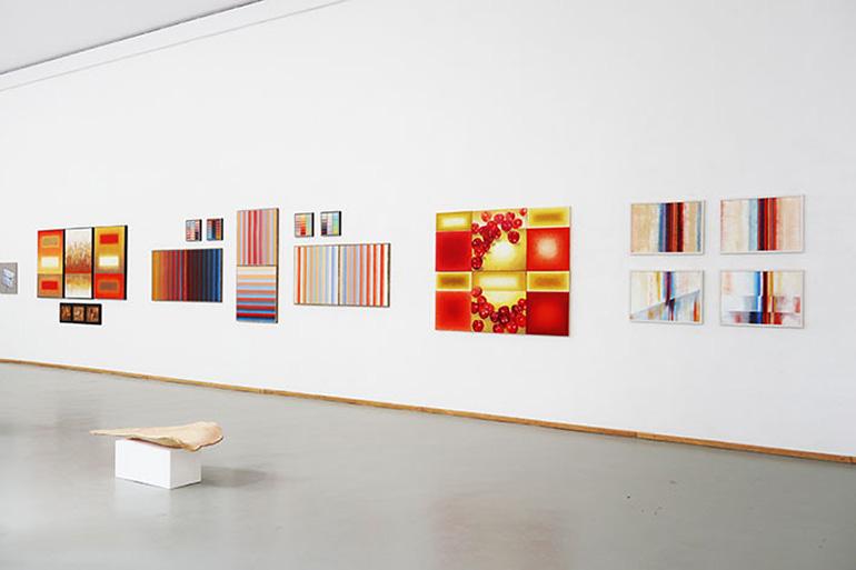 Bild 1 Ausstellung Konkret – Abstrakt