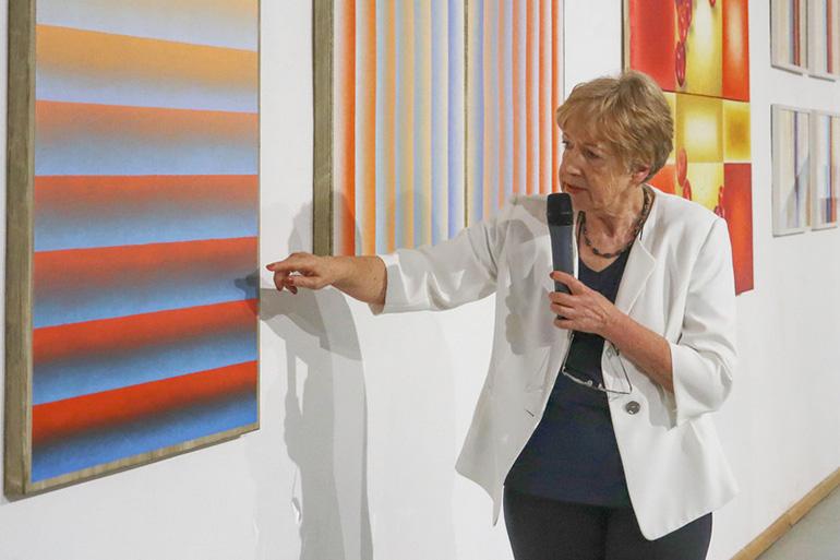 Bild 2 Ausstellung Konkret – Abstrakt
