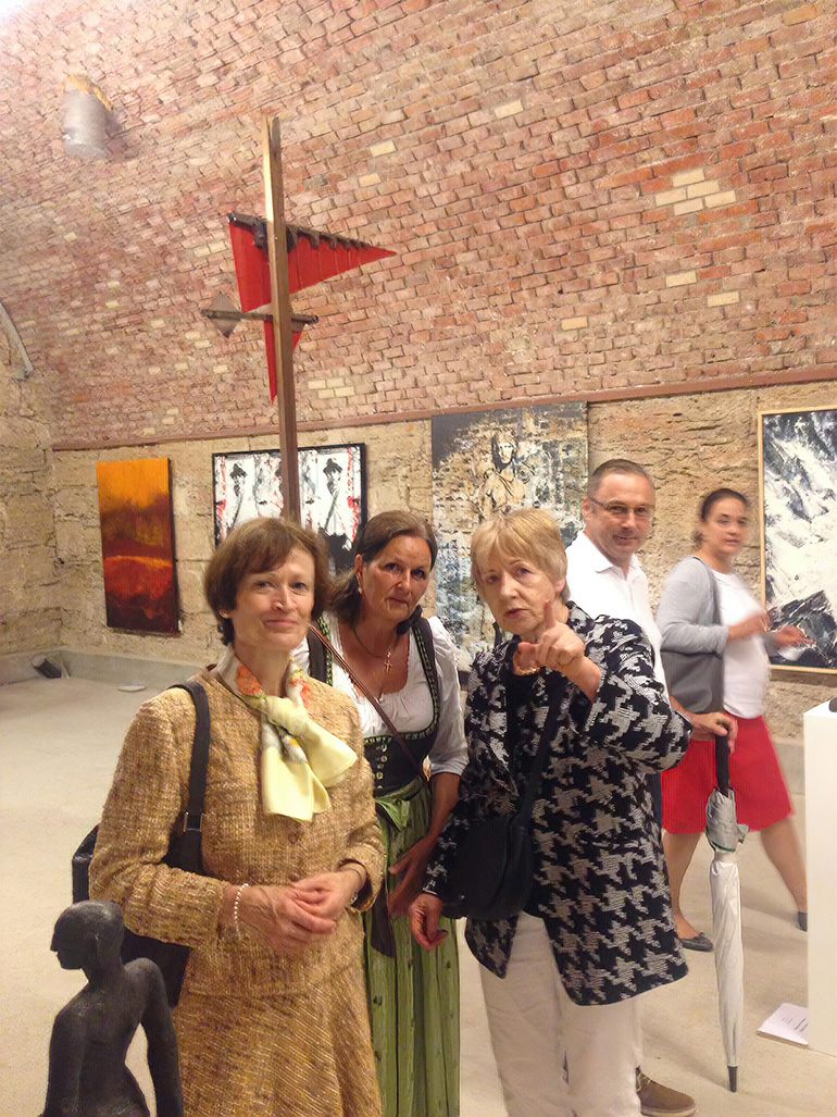 Bernrieder Kunstausstellung Hildegard Stötzel 03