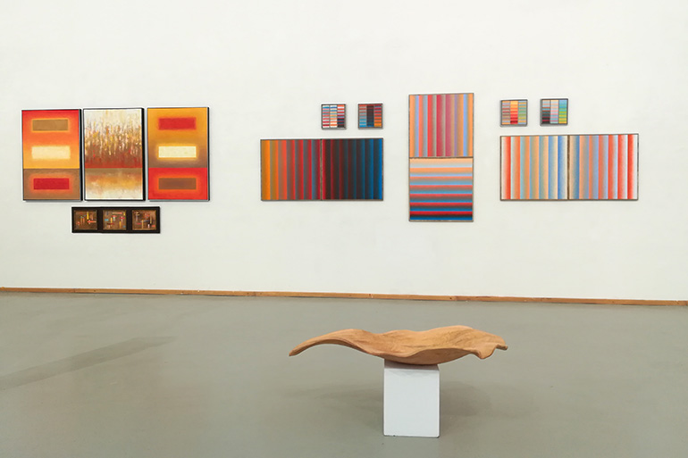 Bild Ausstellung Konkret – Abstrakt