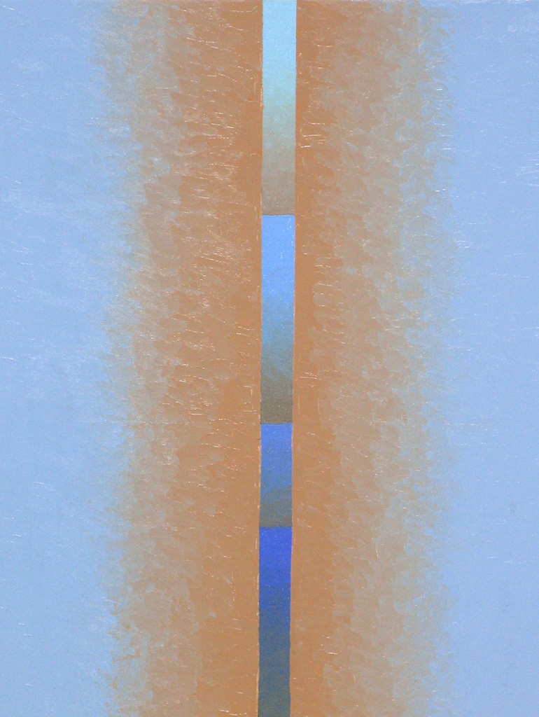 Verheissung-3, Öl auf Panelbord, 24x30, 2020