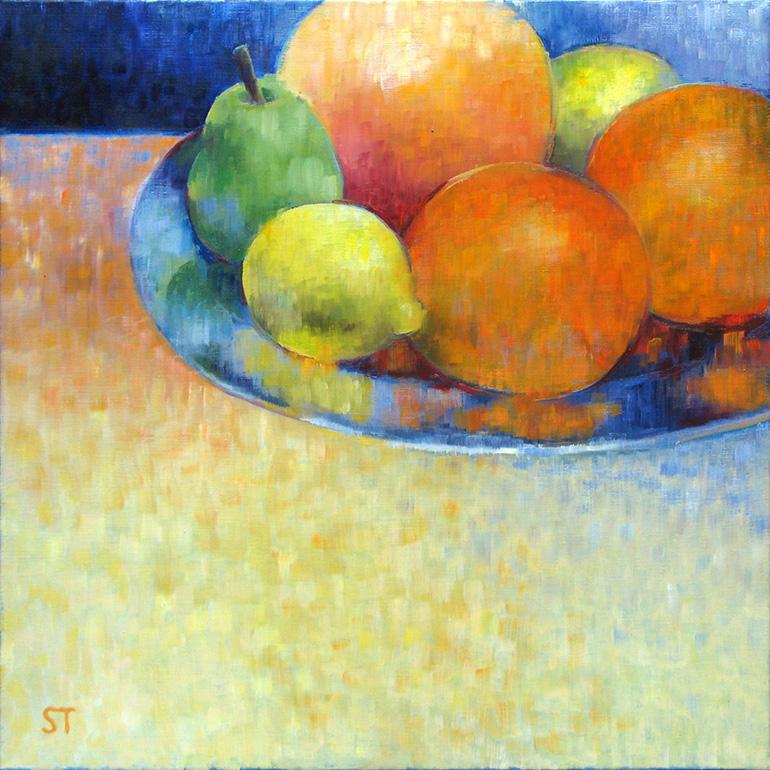 Gemälde 01 aus der Serie 12 Sommerbilder von Reinhild Stötzel