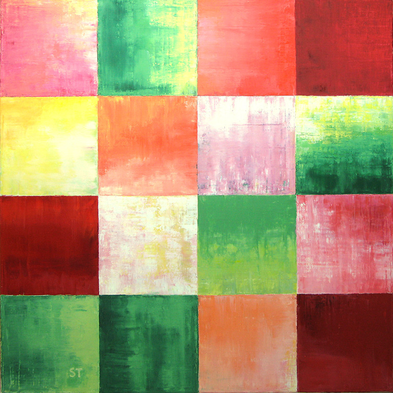 Gemälde 02 aus der Serie 12 Sommerbilder von Reinhild Stötzel