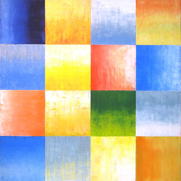 Gemälde 03 aus der Serie 12 Sommerbilder von Reinhild Stötzel