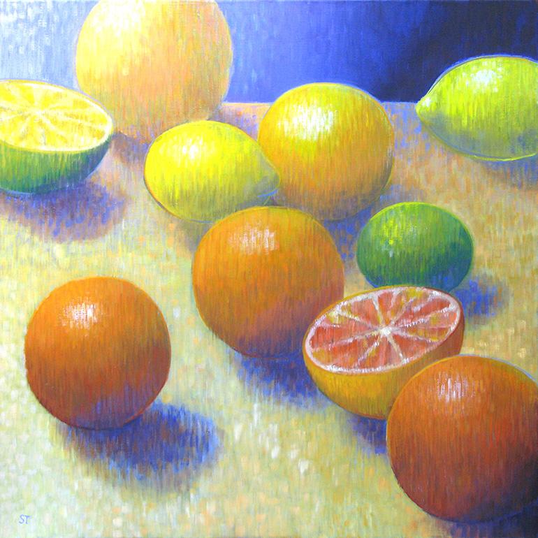 Gemälde 04 aus der Serie 12 Sommerbilder von Reinhild Stötzel