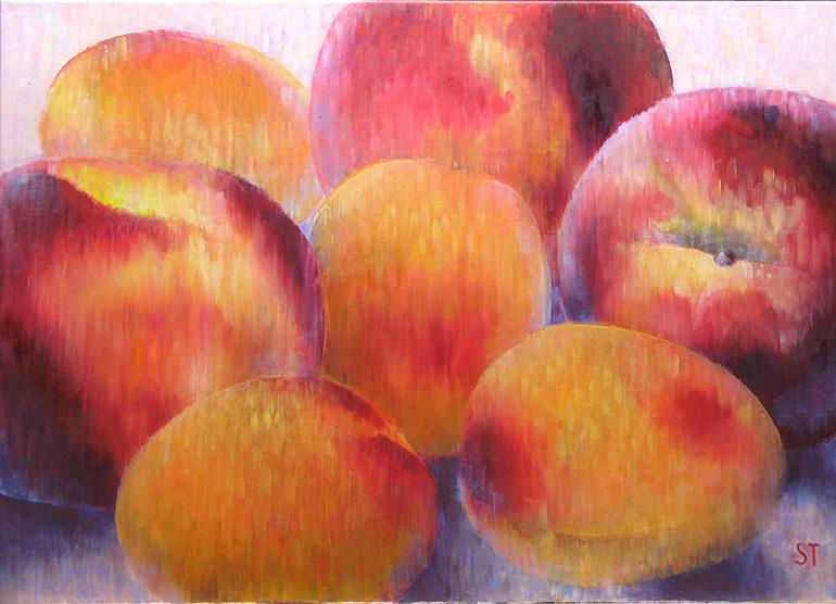 Früchte-1, 2012, Öl auf Lw, 70x50