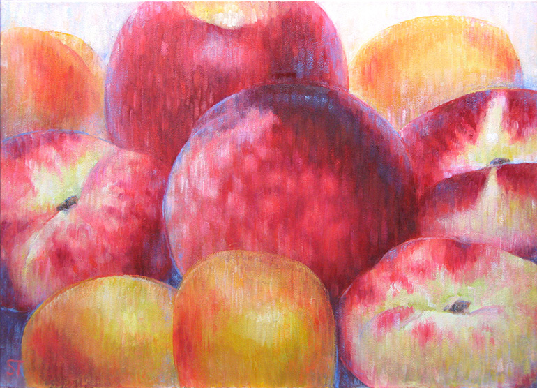 Früchte-2, 2012, Öl auf Lw, 70x50