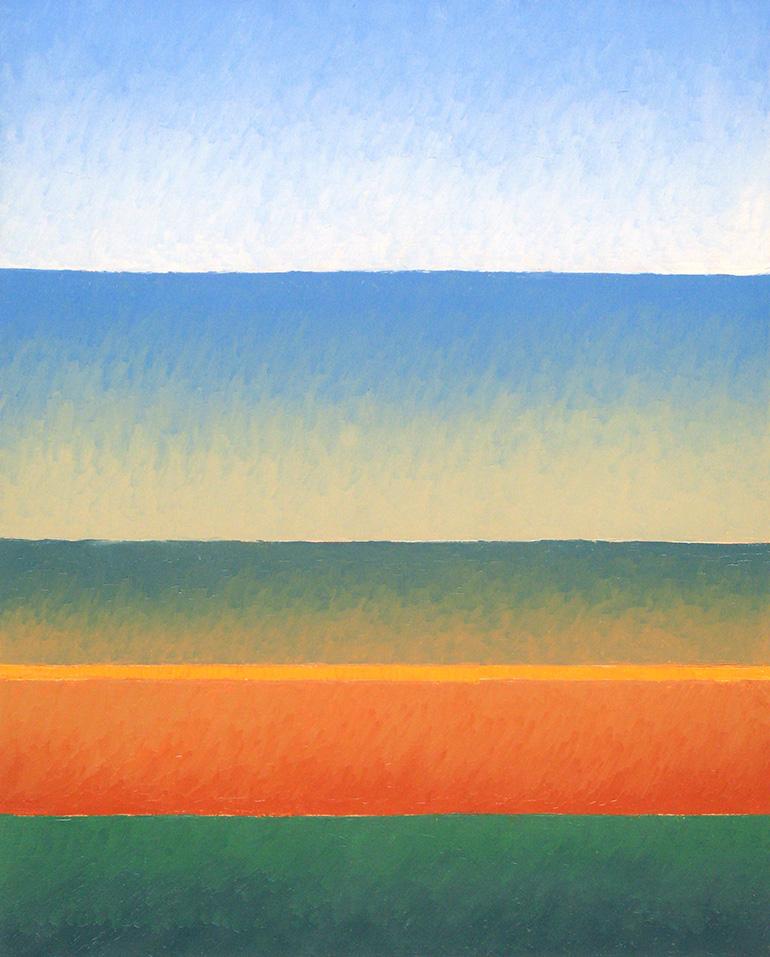 Garten, Öl auf Panel, 24x30, 2016