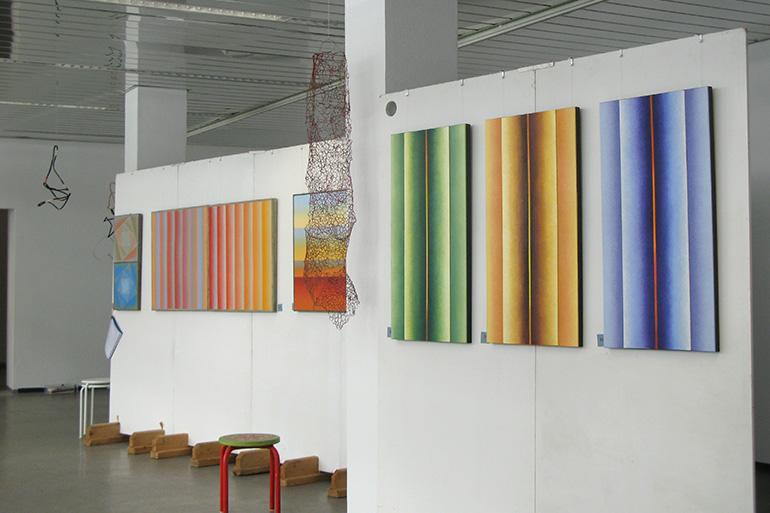 Kunstmeile Wolfratshausen - Gemälde von Reinhild Stötzel