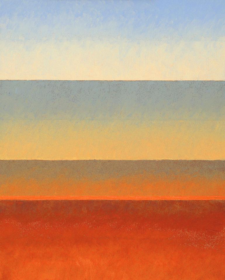 Warmer Abend, Öl auf Panel, 24x30, 2016