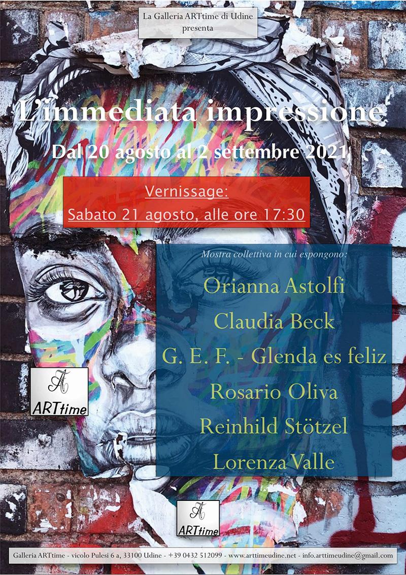 Ausstellungsplakat-GalleriaARTtime-Udine